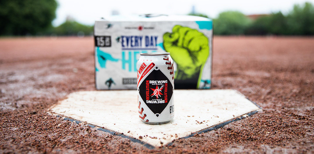 EVERY DAY-HERO: GRAND SLAM CAN SWEEPSTAKES! | Revolution Brewing